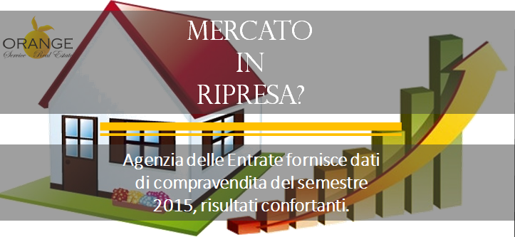 Mercato delle case I° semestre 2015