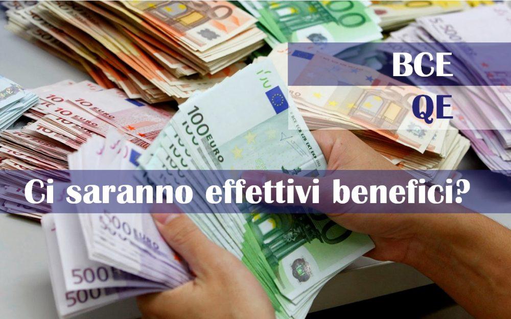 BCE: Quantitative Easing.