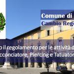 Comune di Prato – Nuovo Regolamento