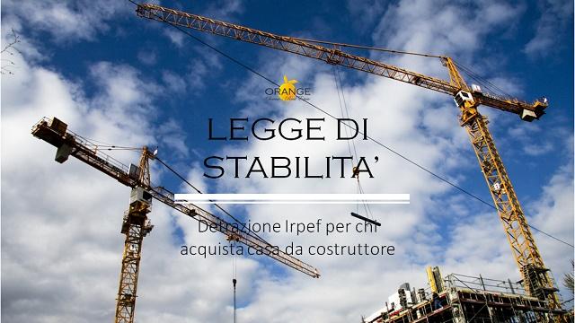 Legge di Stabilità: Sconto Irpef