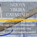 Cambia il Catasto – metri quadri in Visura Catastale